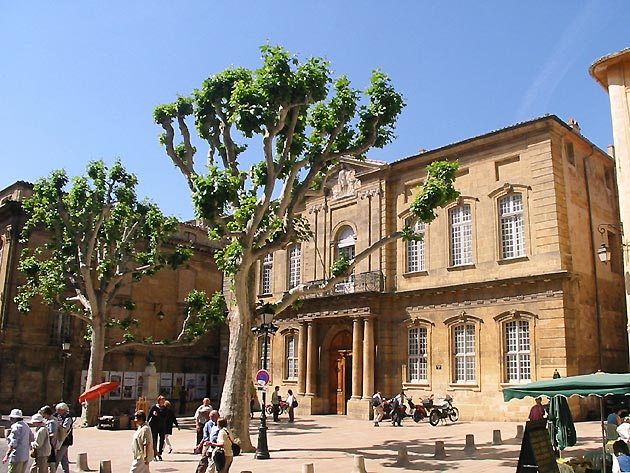 Photo place de l 39 h tel de ville d 39 aix en provence - Piscine d aix en provence ...