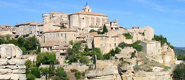 Gordes Village Du Luberon Vaucluse Provence
