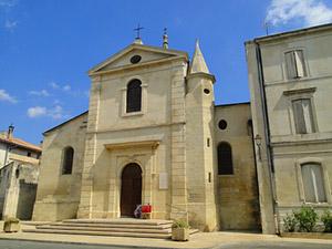 église de maillane alpilles