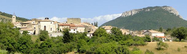Le village de Rosans