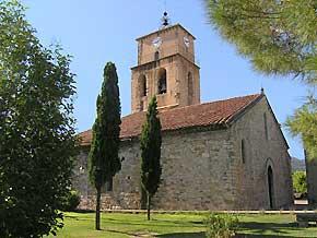 église, sablet