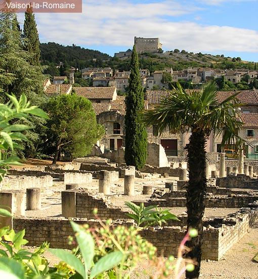 Plan d 39 acc s buisson pr s de vaison la romaine chambres for Chambre d hote vaison