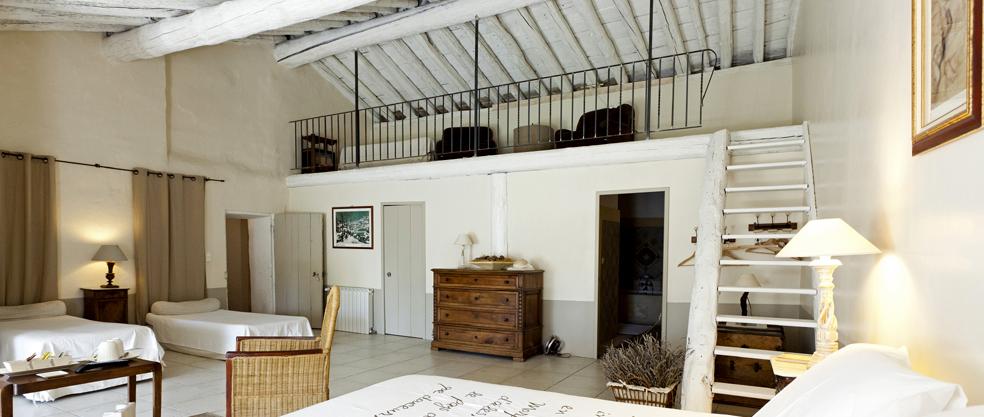 suite fontbelle - camere di ospiti ed gite d'incanto tra avignone ... - Soppalco Camera Da Letto