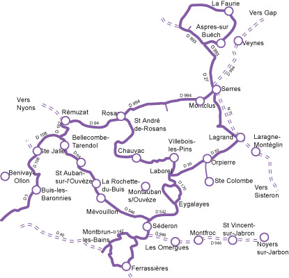 Route De La Lavande Pr 233 Alpes Proven 231 Ales Baronnies